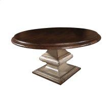 """San Marco Pedestal Table - 54"""""""