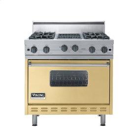 """Golden Mist 36"""" Open Burner Range - VGIC (36"""" wide, four burners 12"""" wide char-grill)"""