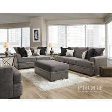 3650 - Akan Graphite Loveseat