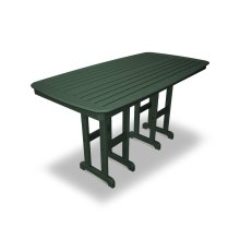 "Green Nautical 37"" x 72"" Counter Table"