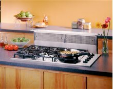 "36"", Stainless Steel, Downdraft External Blower, Choice of Optional Exterior or In-line Blowers Sold Separately"