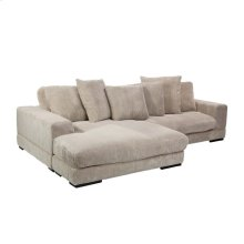 Plunge Sectional Cappuccino