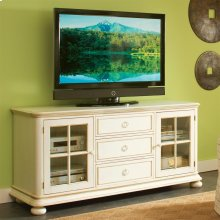 Placid Cove - 72-inch TV Console - Honeysuckle White Finish