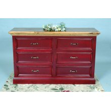 "#404 Williamsburg Dresser 53.5""wx18.5""dx33.5""h"