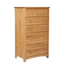 Alder Shaker 6 Drawer Chest