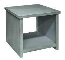 Calistoga Blue End Table