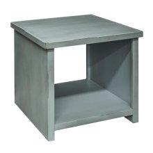 Calistoga Blue End Table