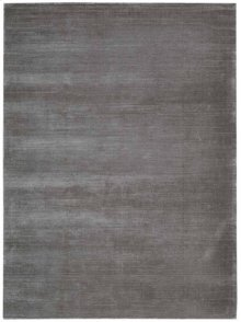 Lunar Lun1 Pewtr Rectangle Rug 27'' X 18''