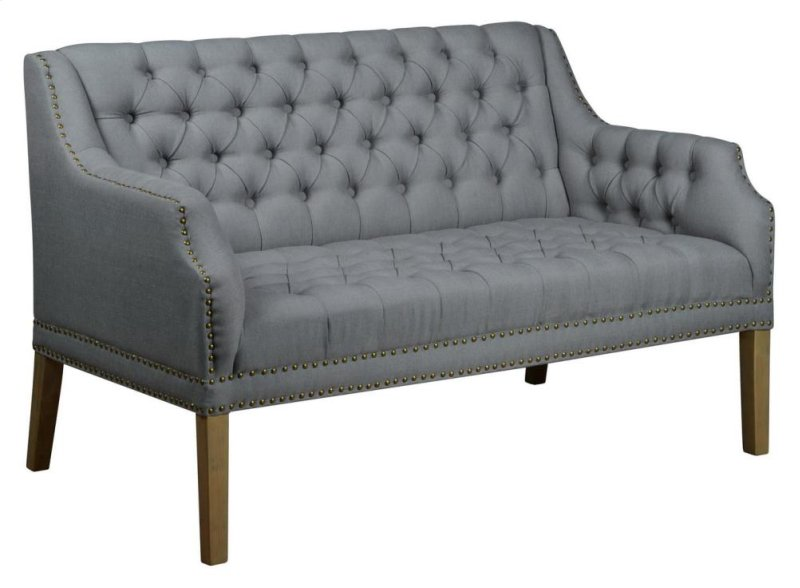 newport loveseat tufted home at settee
