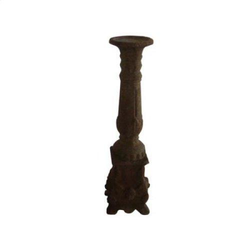 Medium Brown Candle Holder