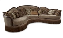 Giovanna Sable Right Arm Facing Loveseat
