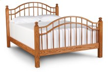 Double Bow Bed, California King