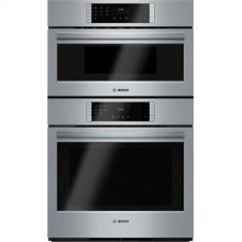 800 Series built-in double oven 30'' Stainless steel HBL87M52UC