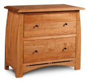 Aspen File Cabinet with Inlay, Lateral Product Image