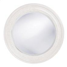 Monmouth Mirror - Glossy White