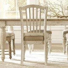 Mix-n-match Chairs - Upholstered Seat Side Chair - Dover White Finish