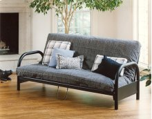 Geneva Futon- Full - Black