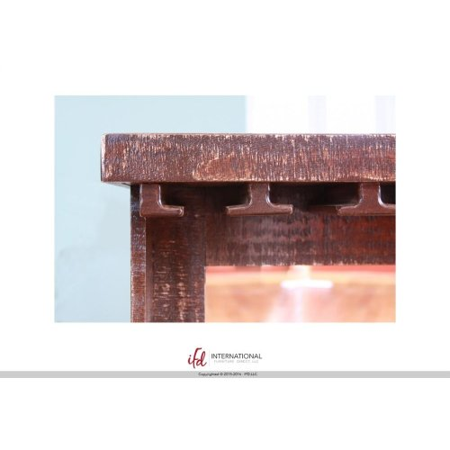Mirror bar w/Glass Holder & shelf