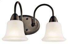 Nicholson 2 Light Vanity Light Olde Bronze®