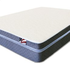 Queen-Size Iris Gel-infused Memory Foam Mattress Product Image