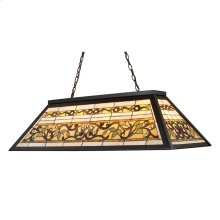 Tiffany Buckingham 4-Light Billiard Light in Tiffany Bronze