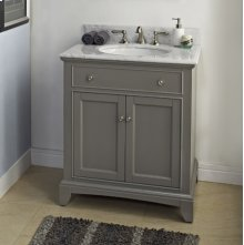 "Smithfield 30"" Vanity - Medium Gray"