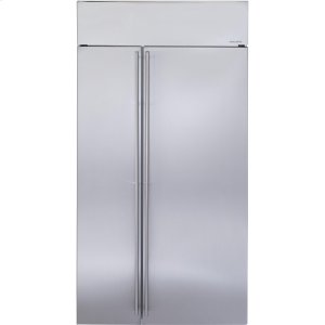 "MonogramMonogram 42"" Built-In Side-by-Side Refrigerator"