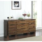 Modern Gatherings - Sideboard - Brushed Acacia Finish Product Image