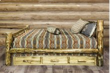 Glacier Country Beds with Storage