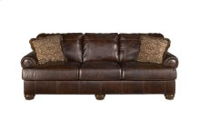 HOT BUY CLEARANCE!!! Axiom-Walnut Leather Sofa