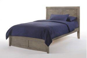 Cape Cod Sand Dollar Bed in Gray Wash Finish