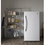 GE ®17.3 Cu. Ft. Frost-Free Upright Freezer