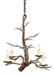 Treetop Iron Small Chandelier