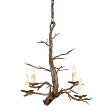 Treetop Iron Small Chandelier