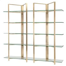 Elton Shelves  Gold