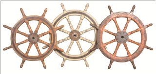Antique Captain's Wheel