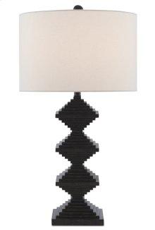 Pelor Black Table Lamp