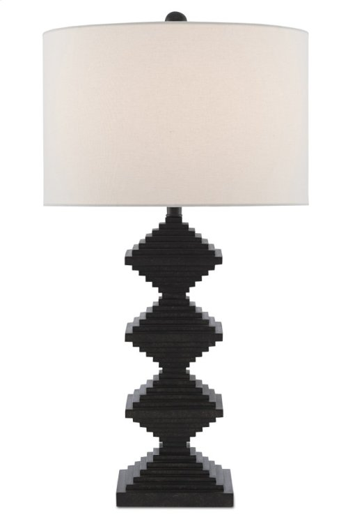 Pelor Black Table Lamp