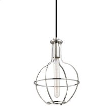 Colebrook Pendant - Polished Nickel
