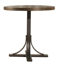 Jennings Round Counter Height Table W/ Metal Base Product Image