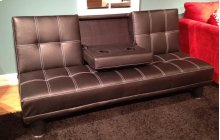Black PU Sofa