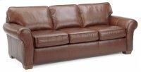 Vail Leather Three-Cushion Sofa Product Image