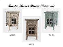 Rustic Shores Power Chairside - Scrimshaw