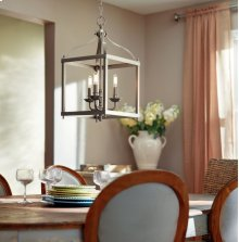 Larkin 3 Light Pendant Brushed Nickel