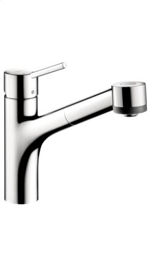 Chrome Kitchen Faucet, 2-Spray Pull-Out, 1.75 GPM