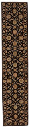 LIVING TREASURES LI05 BLK RUNNER 2'6'' x 12'