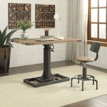 Empleton Small Lift Desk W/ Chair