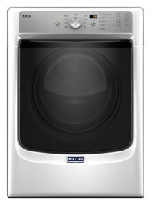 SAVE!!! DISCONTINUED FLOOR MODEL - FULL WARRANTY_MAYTAG Large Capacity Dryer with Sanitize Cycle and PowerDry System - 7.4 cu. ft. MODEL MED5500FW
