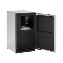 """18"""" Clear Ice Machine Integrated Solid Left-Hand Hinge (No Pump)"""