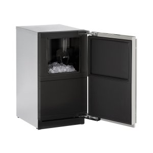 """U-Line18"""" Clear Ice Machine Integrated Solid Right-Hand Hinge (Pump)"""